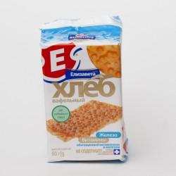 Хлеб вафельный, Елизавета 80 г с витаминами и железом