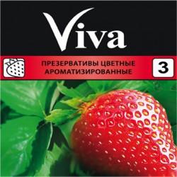 Презервативы, Вива №3 ароматизированные цветные
