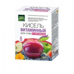 Кисель, Леовит 18 г №5 витаминный для глаз с лютеином