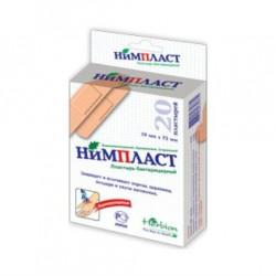 Лейкопластырь бактерицидный, р. 1.9смх7.2см №100 Нимпласт
